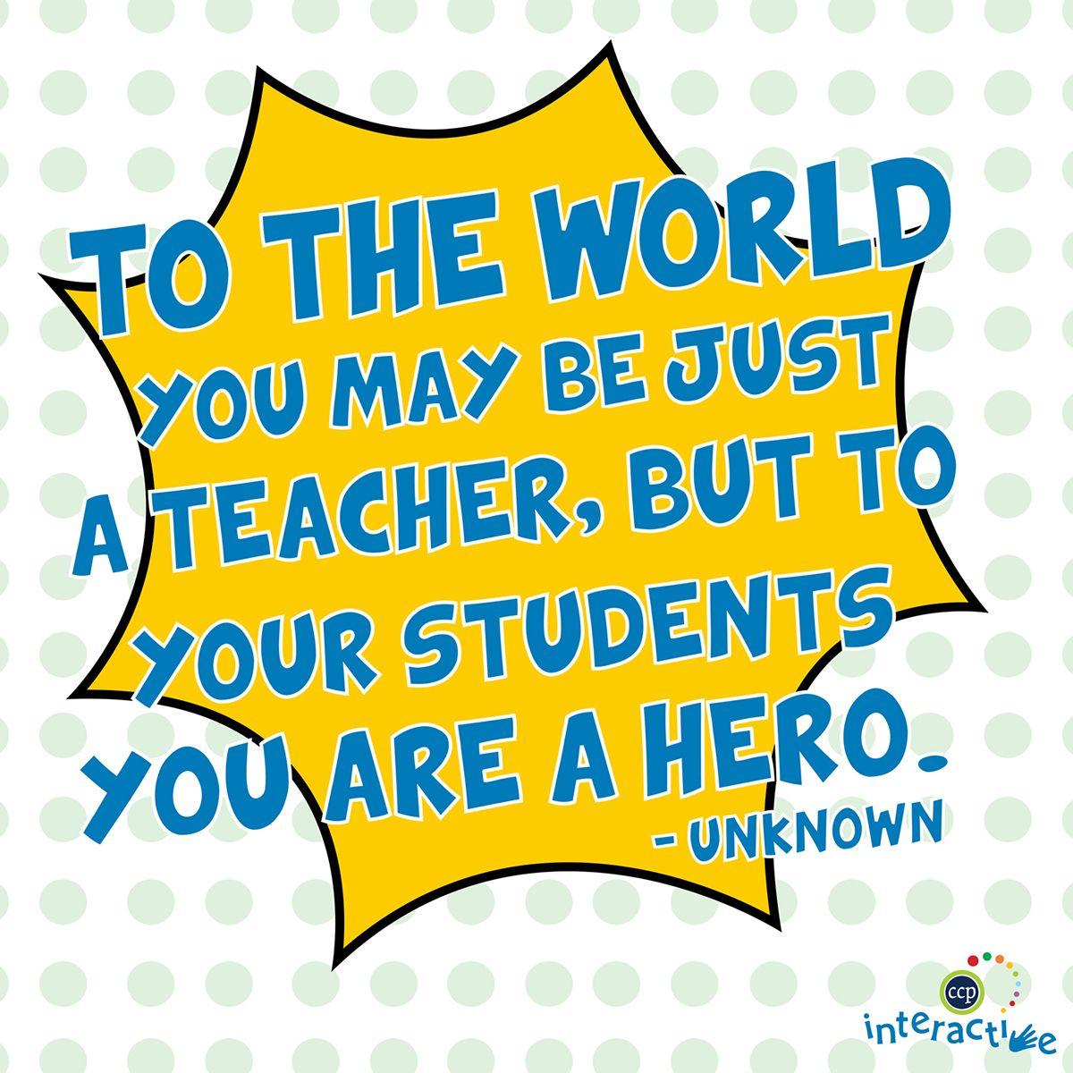 Teachers open a window to the world | Inspirational Teacher