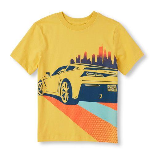car graphic tees