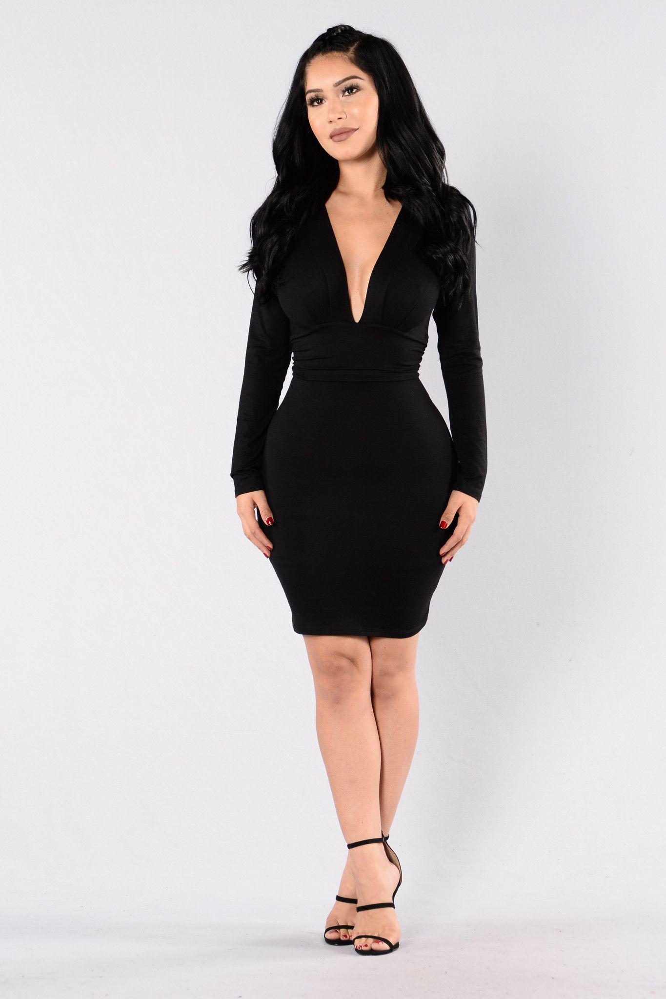 0fea5ada67835 Good Vibrations Dress - Black