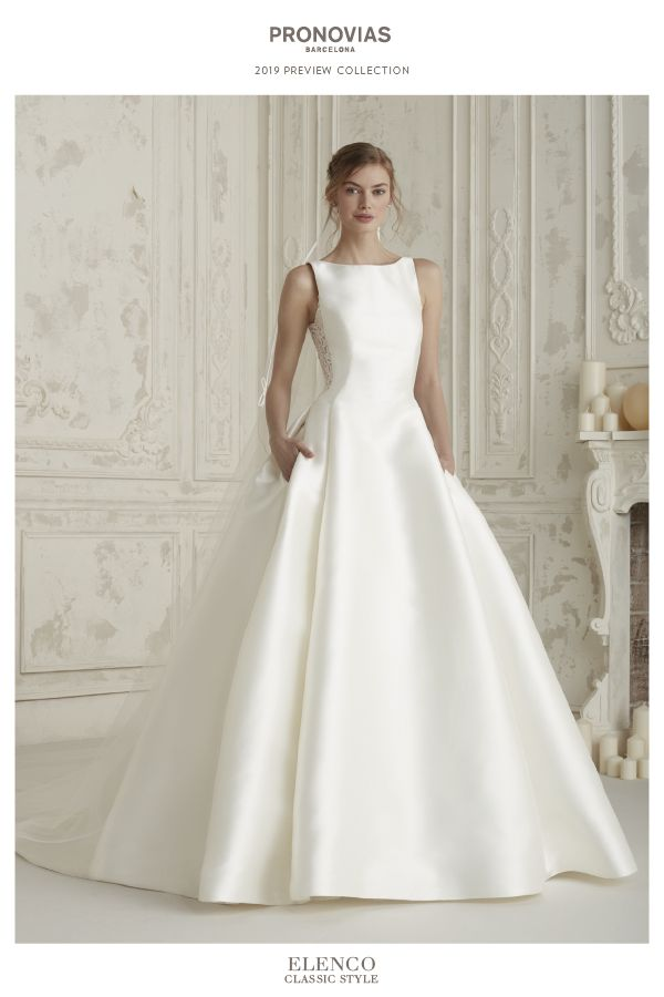 are you a classic bride? discover the 2019 pronovias preview