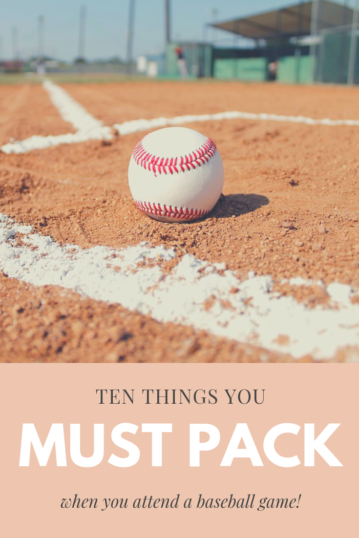 Top 15 Things To Pack For A Cincinnati Reds Game Rachel Corinne Cincinnati Reds Game Reds Game National Games