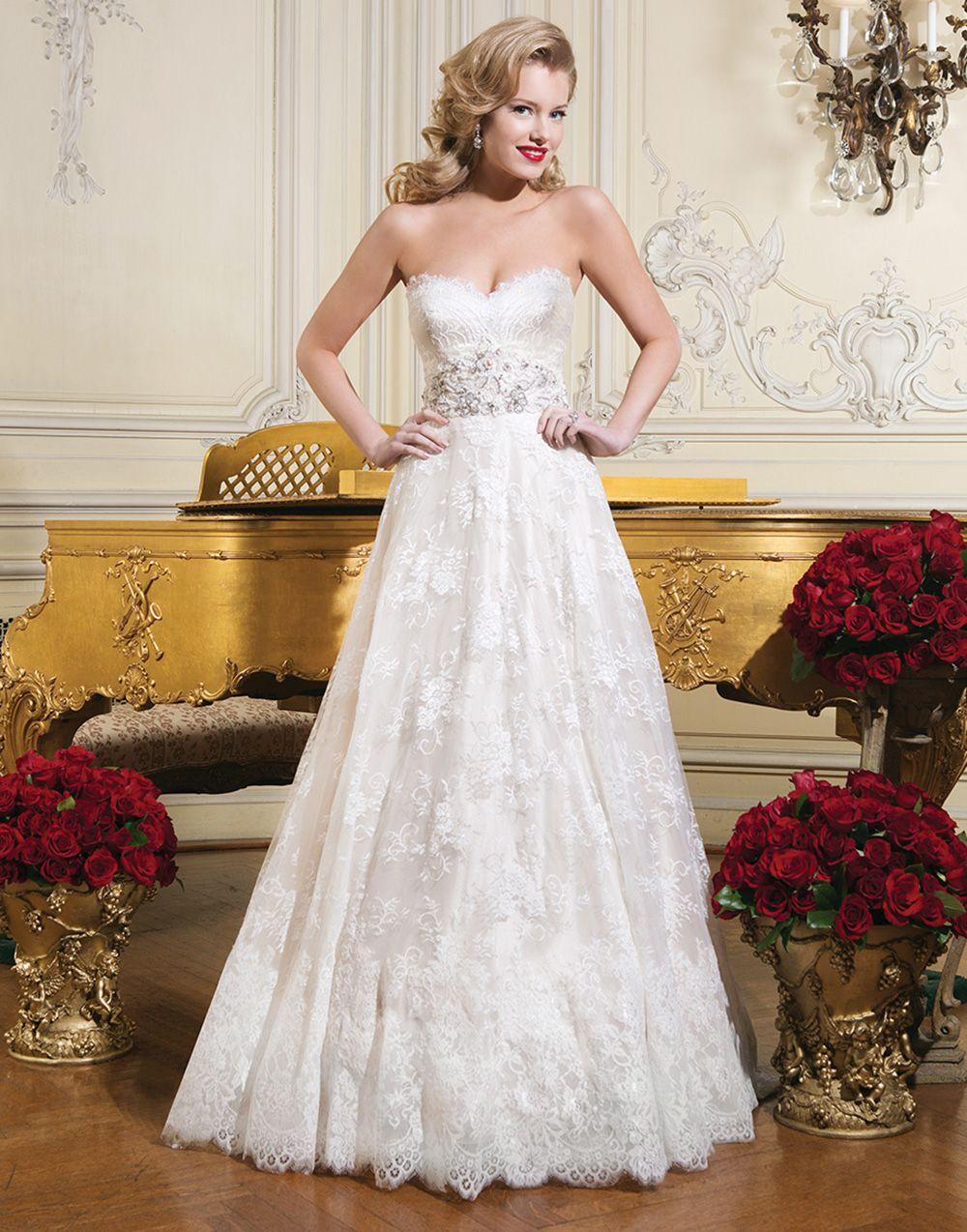 Gorgeous Justin Alexander wedding dress style 8766 - Chantilly lace ...