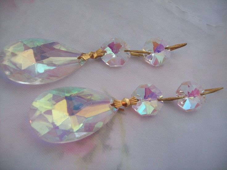 pictures chandelier crystal ornament projects | Iridescent ...