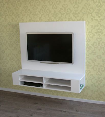 Tv Kast Hangend.Zelf Hangend Tv Meubel Maken Penelope In 2019 Tv Wand Floating