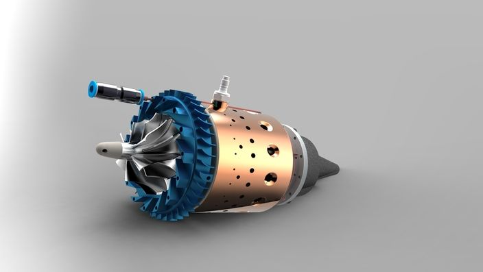 KJ-66 RC TurboJet Engine