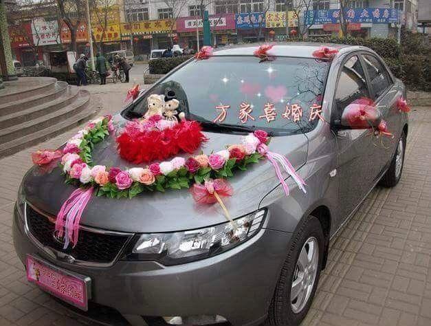 Pin by Sha on Wedding Car Decoration Ideas