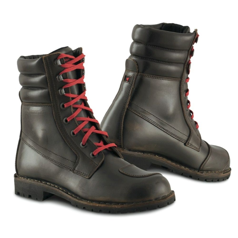 Alpinestars Firm Boots Motorcycle Boots Cafe Racer Brown 10 = 43