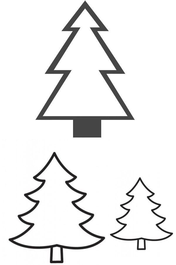malvorlagen tannenbaum ausdrucken online  aiquruguay