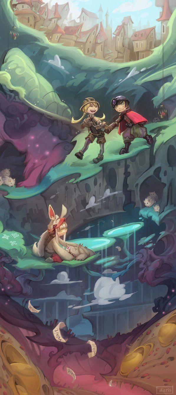 To The Abyss By Nieris Abyss Anime Anime Manga Anime