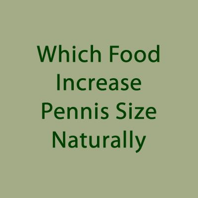 Drugs that increase penile size