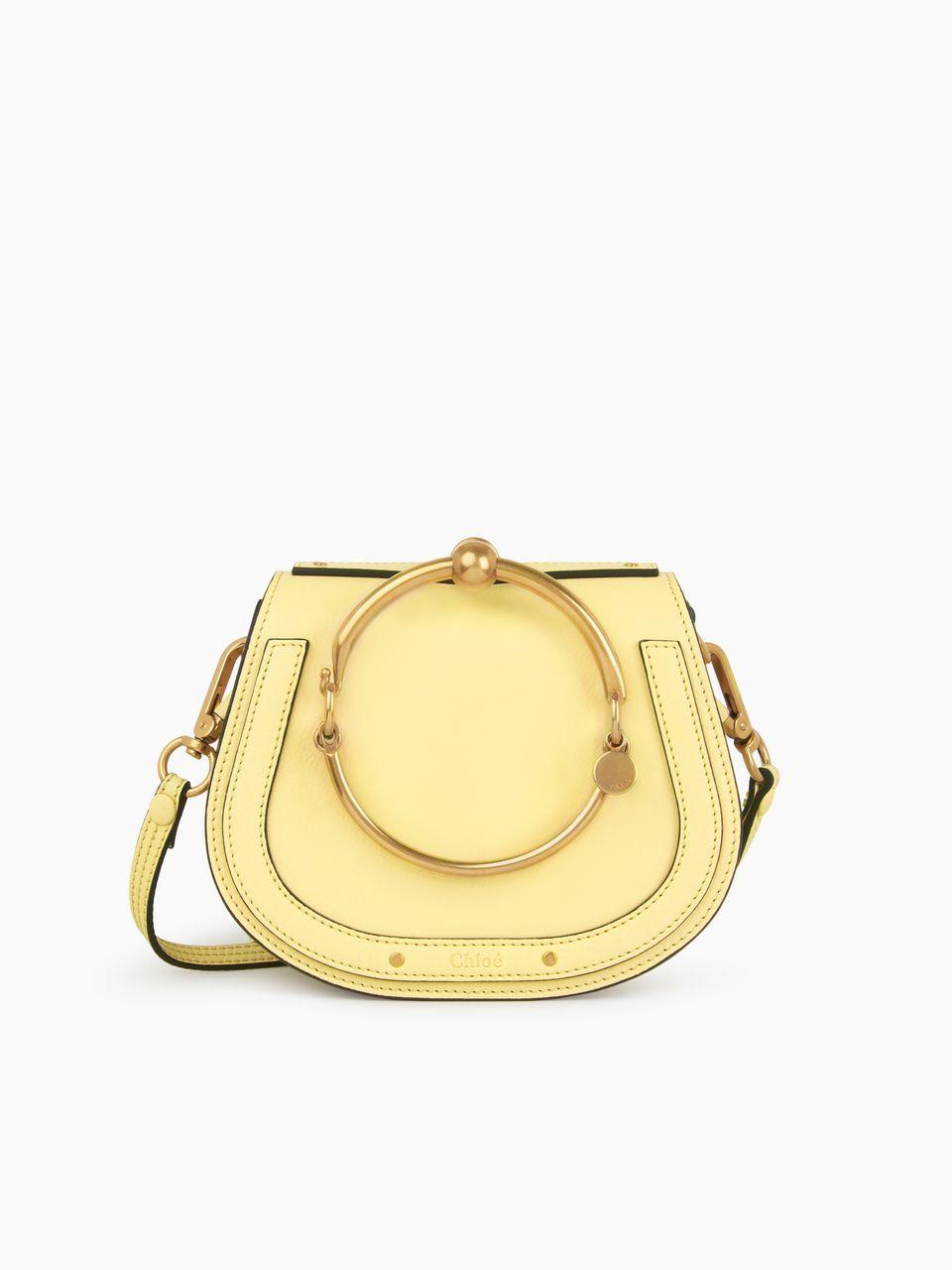 e603500a2a Chloé - Small Nile bracelet bag in lemonade smooth & suede calfskin ...