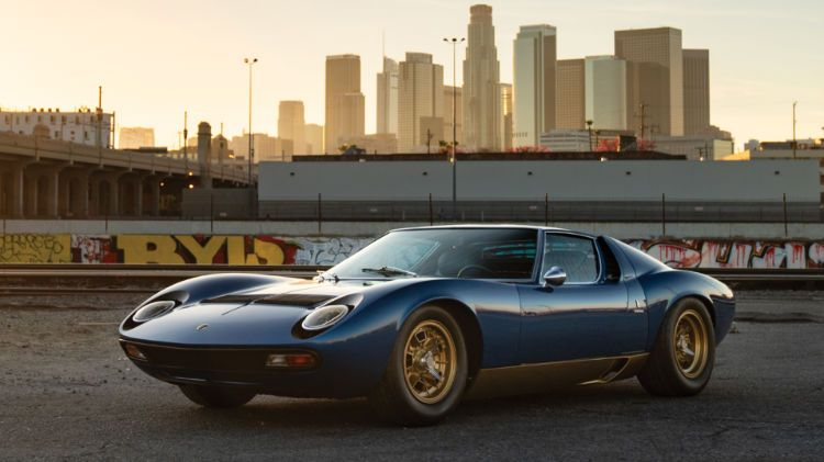 2018 Rm Sotheby S Los Angeles Petersen Museum Sale Supercars