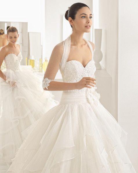 vestidos de novia y vestidos de fiesta | todo para la novia | rosa