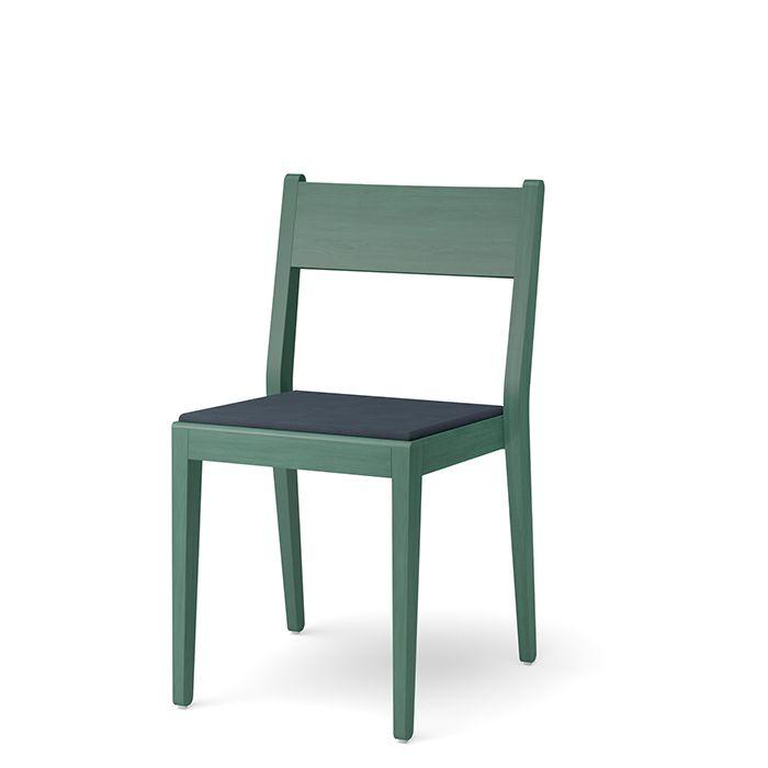 Use stol kläddsits grönbets