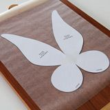 tinkerbell wings template google search girl scouts pinterest