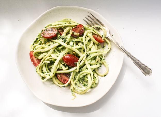 Photo of Zucchini Pasta with Parsley Pesto