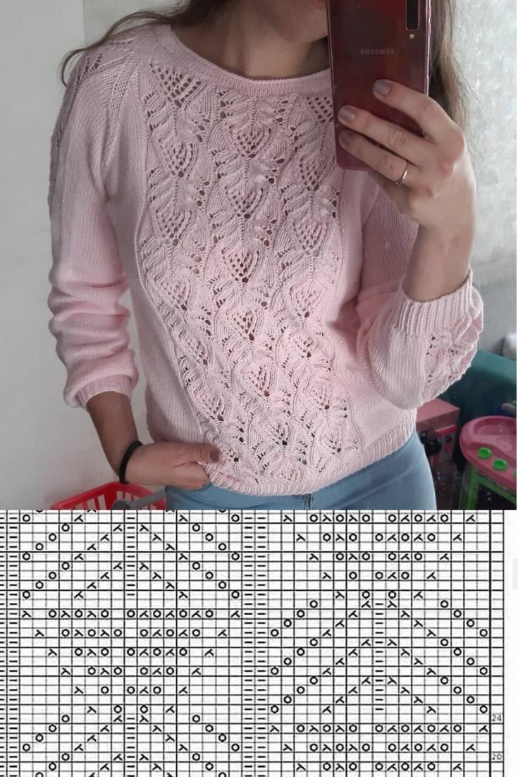 Photo of Японский пуловер спицами