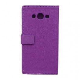 Galaxy J5 violetti puhelinlompakko.