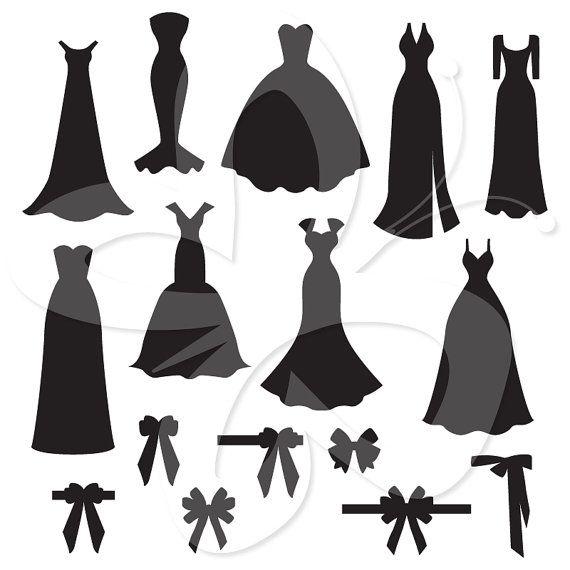 Wedding Dress Clipart Free - ClipArt Best | Free clip art, Wedding clip, Wedding  clipart