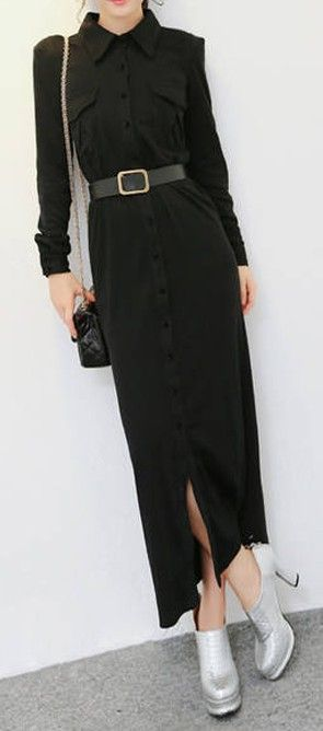 Dress With A Belt www.vintagebuying.com  a23e8a9d79d1b