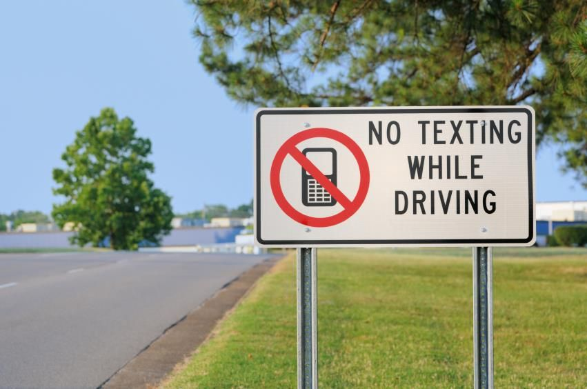 Did you know april is national distracted driving