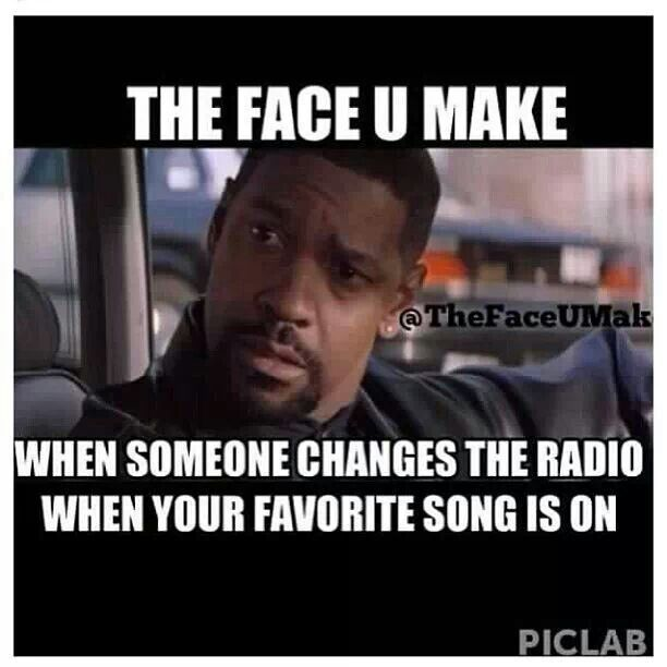 Yep. Don't Be Touching My Radio.#shitidontlike