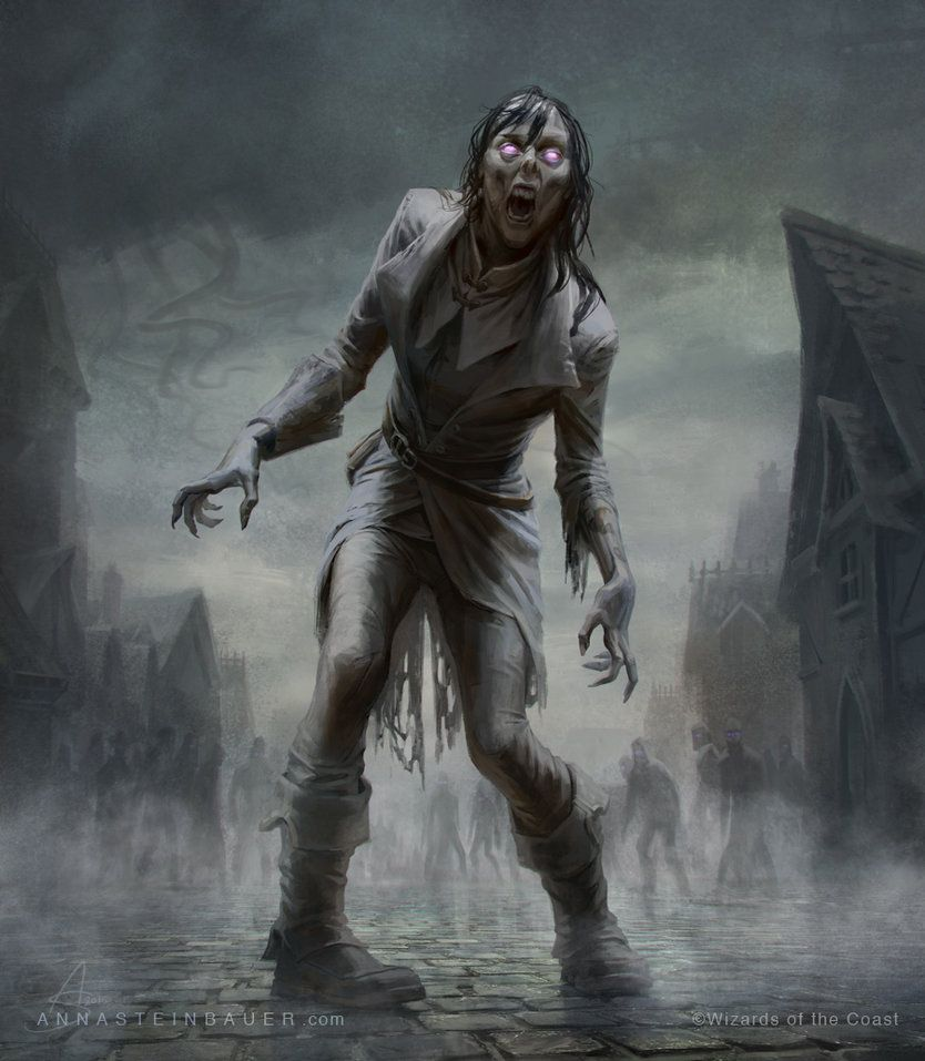 Image result for zombie token art