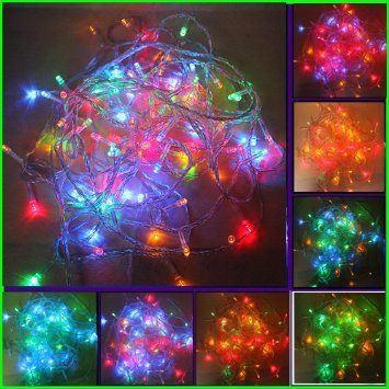 bollywood) Amazon.com - 100 LED Multi-color Christmas Light Mix ...
