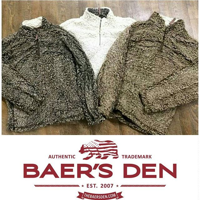 We know it's still August... But we're prepared for winter. True Grit Frosted Tip Pullovers! #baersden #mensfashion #style #fashion #mensclothing #dapper #men #women #winter  www.thebaersden.com