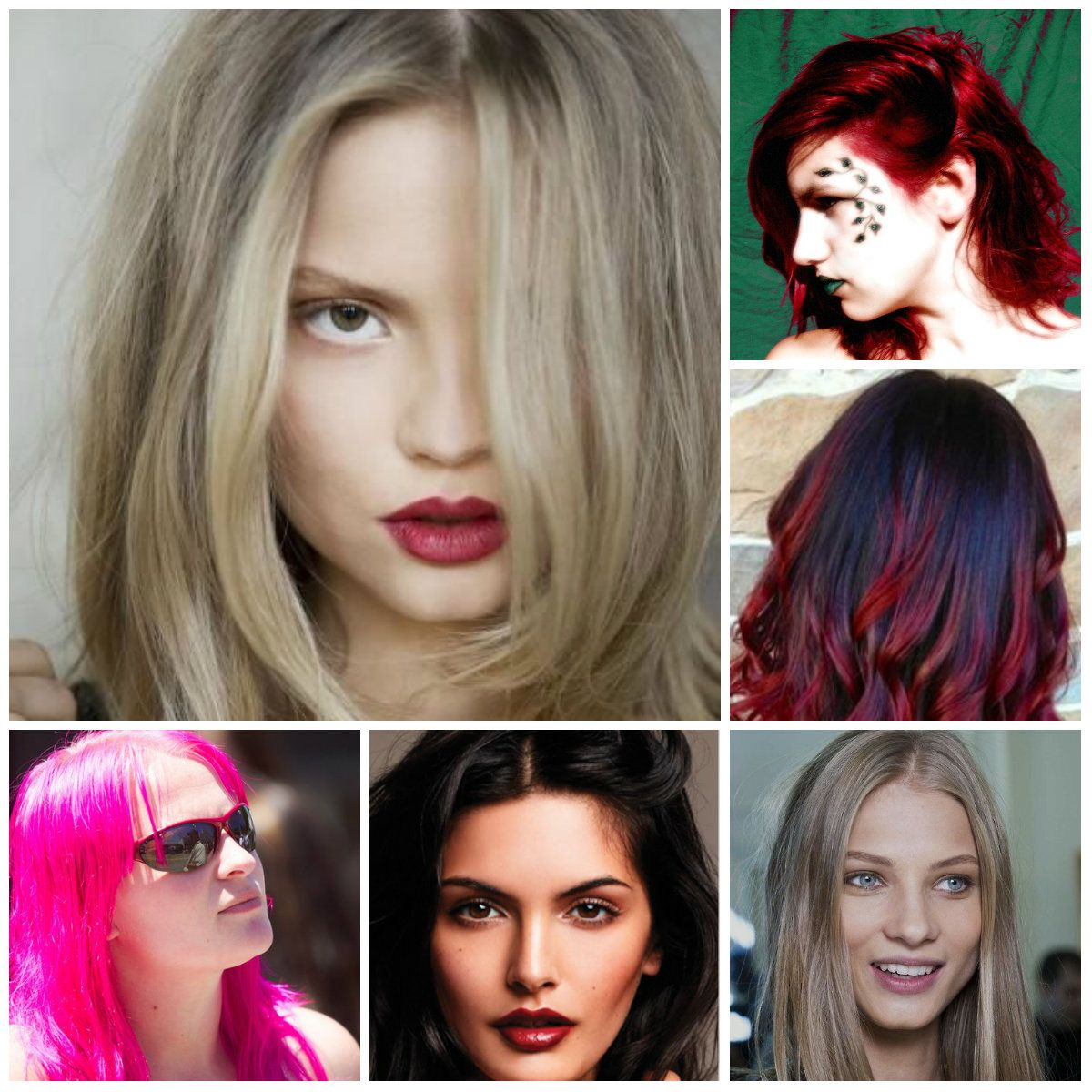 The Most Por Hair Color Trends 2016 2017 Haircolors