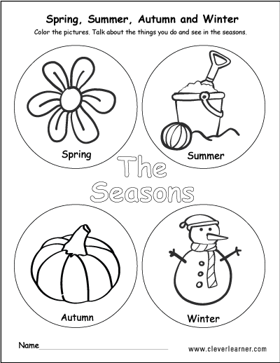 the seasons activity worksheet for preschools worksheets kg seasons worksheets seasons. Black Bedroom Furniture Sets. Home Design Ideas