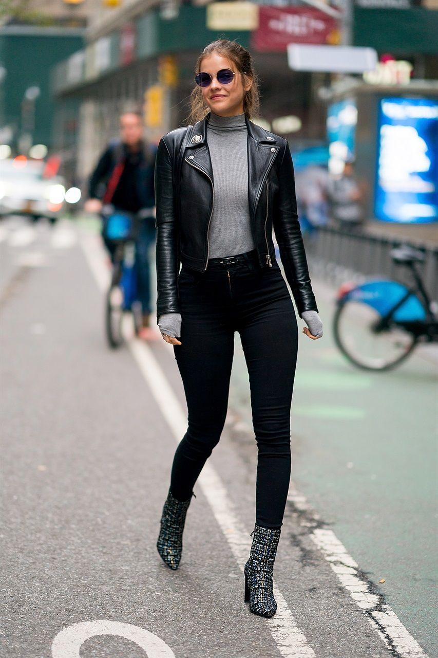 Models Off Duty: i migliori look sfoggiati dalle modelle a novembre - Vogue.it