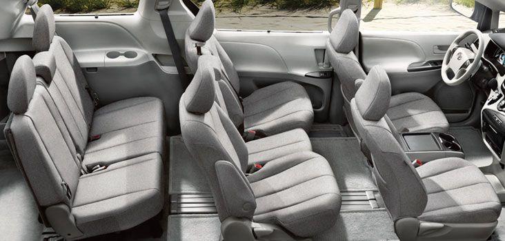 Sienna 8 Passenger Interior Toyota Sienna Interior Toyota
