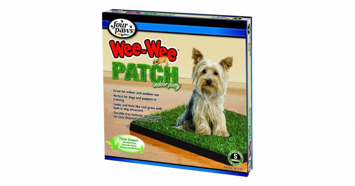 Four Paws Wee Wee Patch Indoor Potty 100203053 Dog Potty