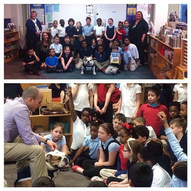 Book reading with Indianapolis Public School No. 91