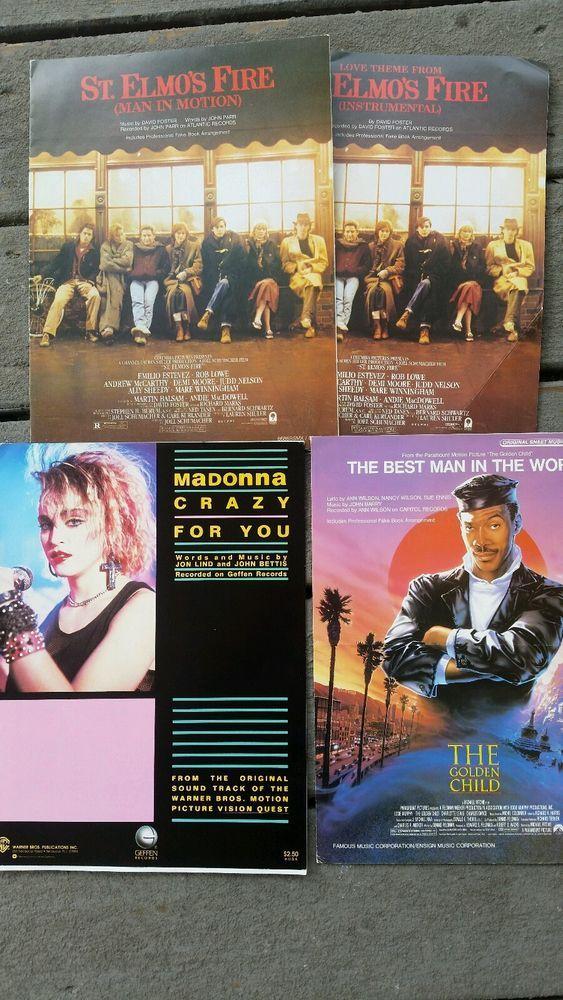 All Music Chords golden sheet music : Sheet music Madonna Eddie Murphy St.elmos Fire Vision Quest Golden ...