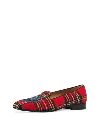 b71767792e9 New Gallipoli Classic Tartan Loafer by Gucci at Neiman Marcus ...