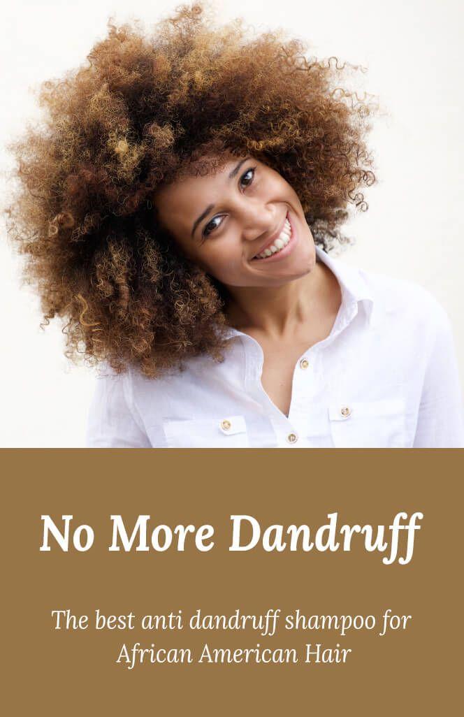 Dandruff Africanamerican Hair Afro Natural