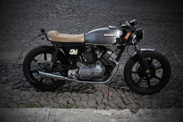 Treemmezzo Moto Morini 350 By Emporio Elaborazioni Roma Via
