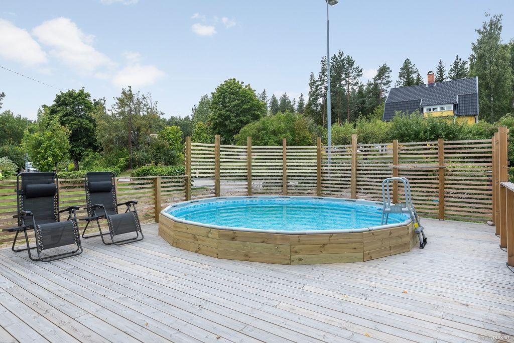 Terrassen Pool pool infälld i terrassen pool
