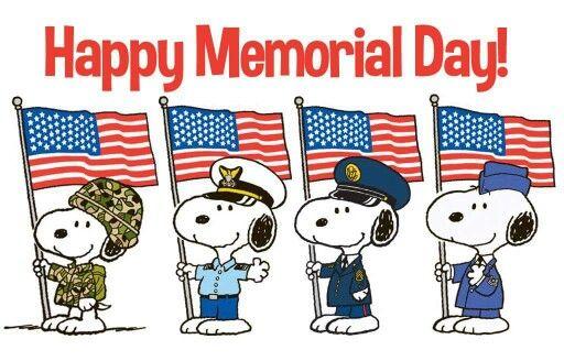Memorial day snoopy | Happy memorial day, Memorial day, Snoopy