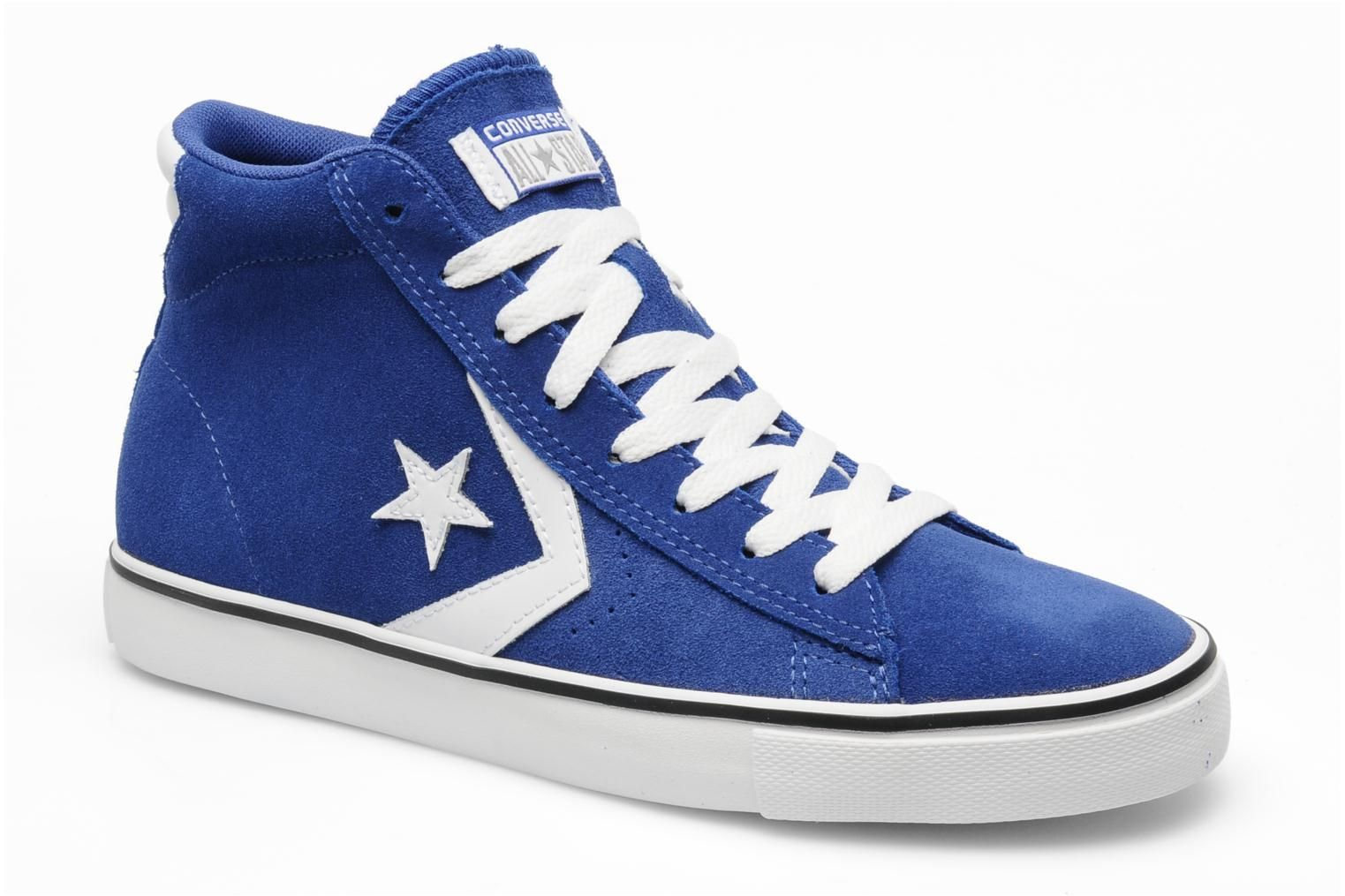 converse pro leather vulc suede mid m