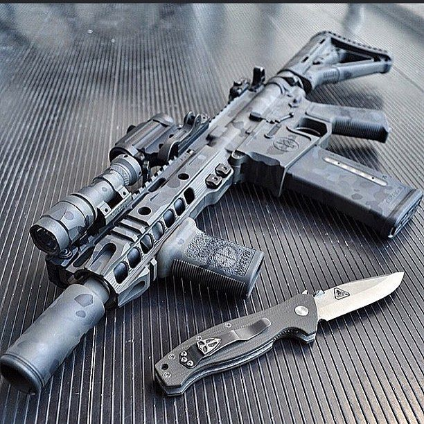 Gunsdaily By Slrrifleworks Amp Mike498 Sick Knives