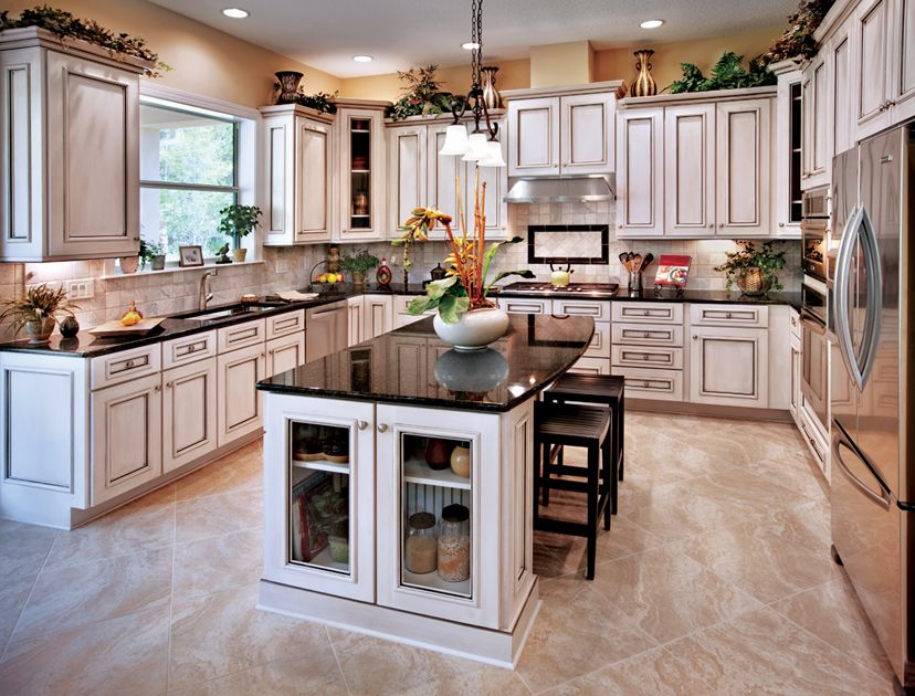 Toll Brothers - The Woodlake features a gourmet kitchen ...