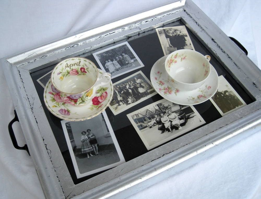 Picture Frame To Make A Serving Tray