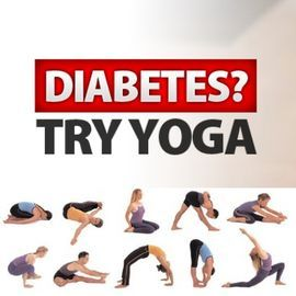yoga for coping with diabetes in conjunction with eating