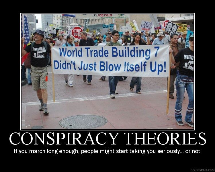Conspiracy theory in the world of