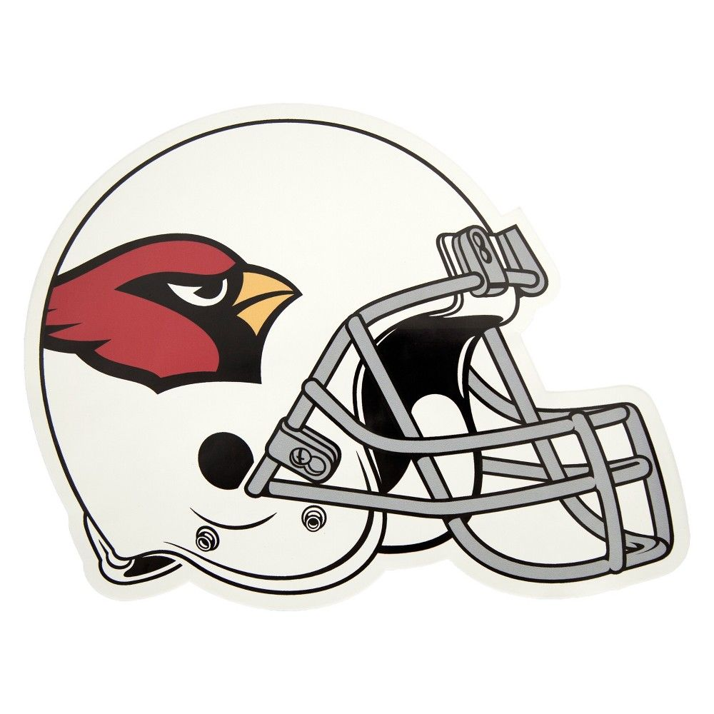 1b40340f NFL Arizona Cardinals Large Outdoor Helmet Decal in 2019 | Products ...