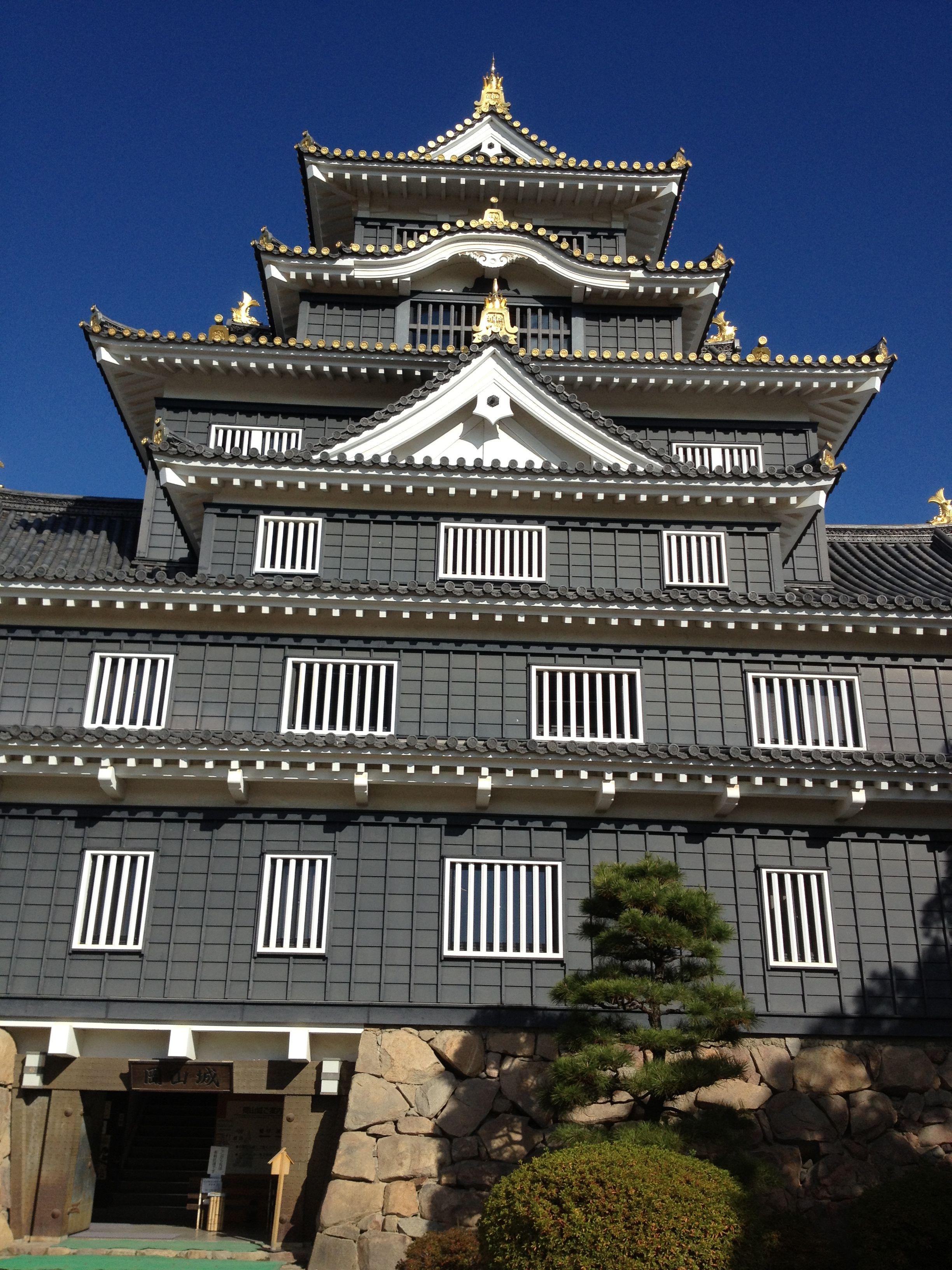 岡山城 Okayama-castle