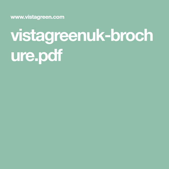 vistagreenuk-brochure.pdf | Artificial vertical garden ...